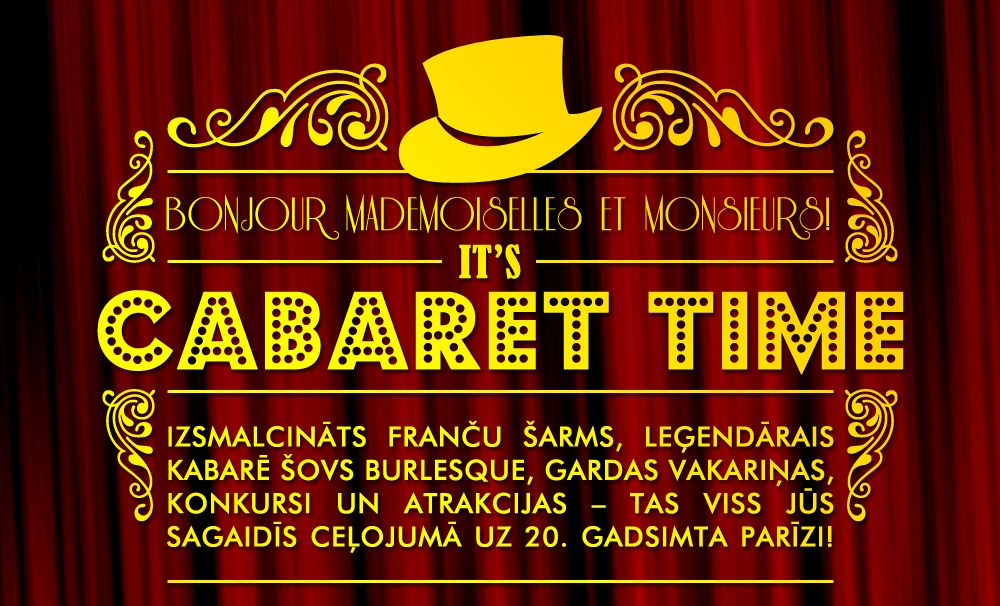 Cabaret Time corporate event