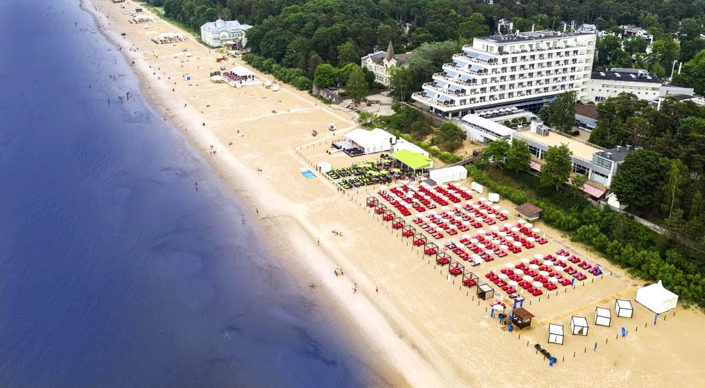 Baltic Beach Hotel & Spa in Jurmala, Latvia
