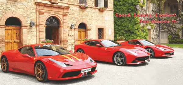 Speed. Luxury. Comfort. You deserve it.